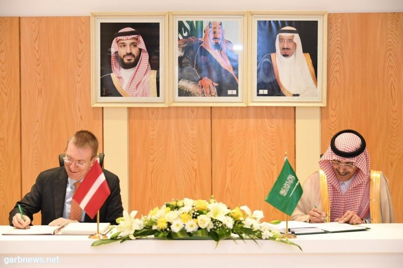 H.E. Minister of Finance Signs DTAA with Latvia's Minist..