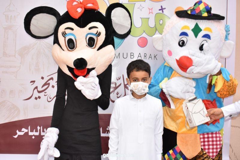 """فريق مبادرون التطوعي بالباحر بصبيا يحتفلون بالعيد بطريقة مختلفة بإطلاقهم مبادرة """"قافلة"""" العيد"""""""