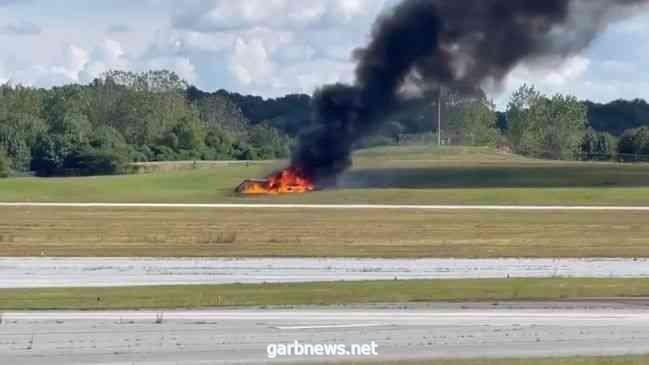 مقتل أربعة أشخاص إثر تحطم طائرة  في أمريكا