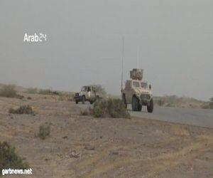 القوات اليمنية تستعيد مفرق حيس و العدين مع تزايد هروب المليشيات