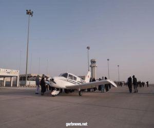 وسط حضور كثيف..  نادي الطيران ينشر ثقافته بالأحساء