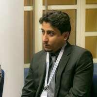 """مشاري الصعيري"""" رئيس نادي الطلبة السعودي في مدينة كيمبردج بالمملكة المتحدة متحدثا عبر صحيفة """" غرب الإخبارية """""""