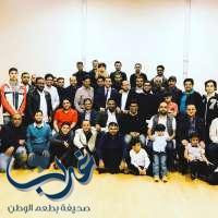 """عبدالهادي القحطاني: نحتفل بسعادة غامرة بتخرج زملاء الإبتعاث """"الثبيتي"""" و """"الظهراني"""" من نيوكاسل"""