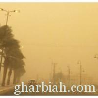 موجبة غبار تحجب الرؤية في جازان وعدد من المحافظات الساحلية